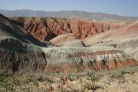 The colors of the Qigu Formation south of Urumqi
